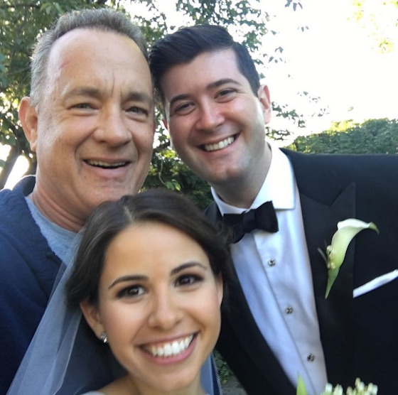Tom Hanks Crashed a Wedding in Central Park