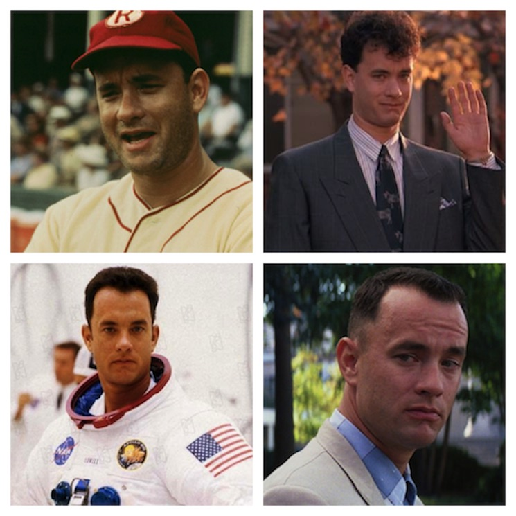 Four Iconic Tom Hanks Outfits That Prove He's Always Been a Dad Fashion Icon
