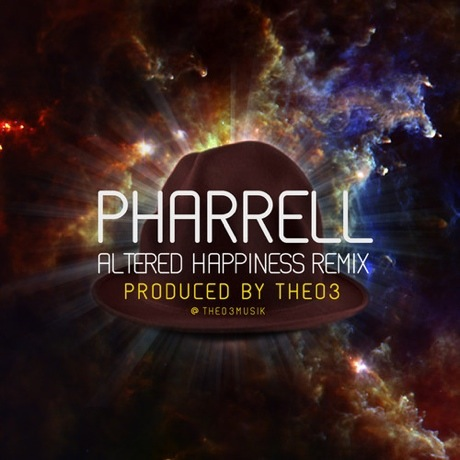 "Pharrell Williams ""Altered Happiness"" (Theo3 remix)"
