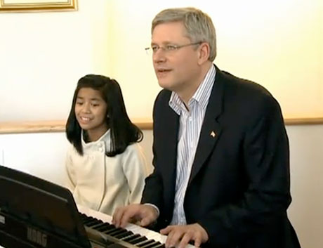 Stephen Harper's John Lennon Cover Pulled from YouTube over Copyright Violations