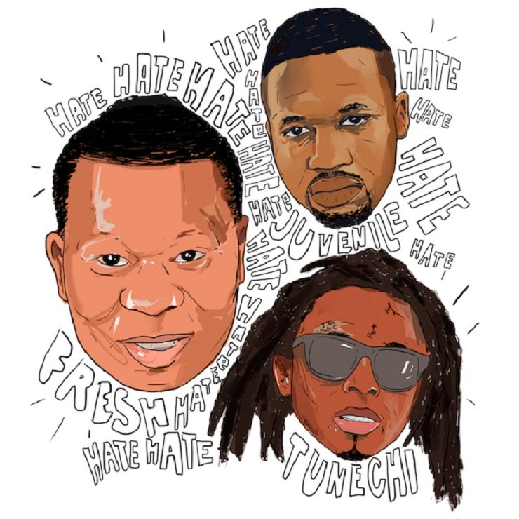"Mannie Fresh ""Hate"" (ft. Lil Wayne, Birdman & Juvenile)"