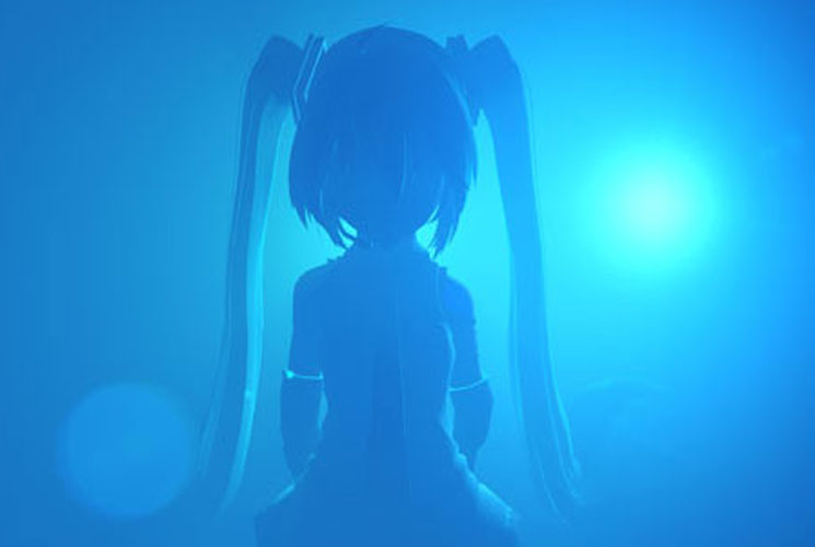 Hatsune Miku and Laurel Halo Partner for Conceptual Art Installation