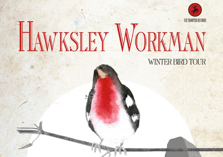 "Hawksley Workman Reveals ""Winter Bird Tour"""