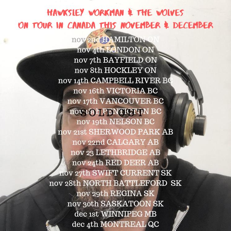Hawksley Workman Plots 'Median Age Wasteland' Tour