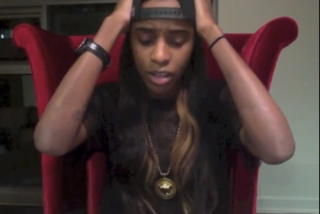 Angel Haze 'You Broke My Heart' (poem)