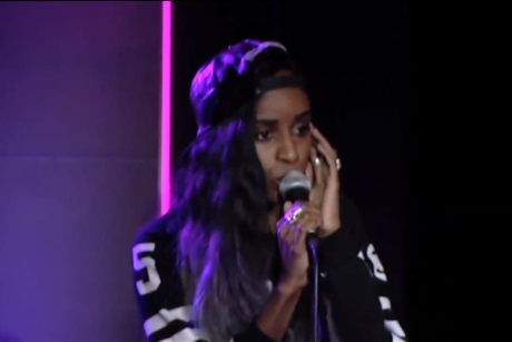"Angel Haze ""Drunk in Love"" (Beyoncé cover) (live in-studio video)"