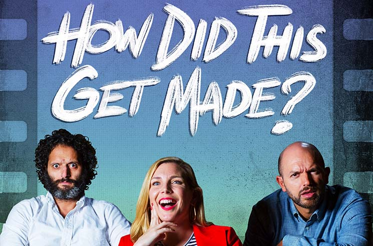 'How Did This Get Made?' Hosts Paul Scheer and Jason Mantzoukas Talk Brad Pitt's Oscar Nom and Their JFL NorthWest Podcast Taping
