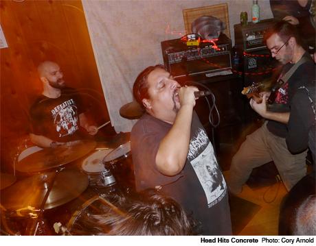Head Hits Concrete / Sick Red Door, Victoria BC October 29