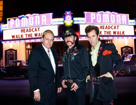 Lemmy's Motörhead Side-Project the Head Cat Unveil New Album