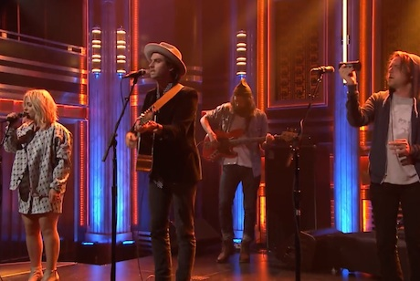 The Head and the Heart 'Let's Be Still' (live on 'Fallon')