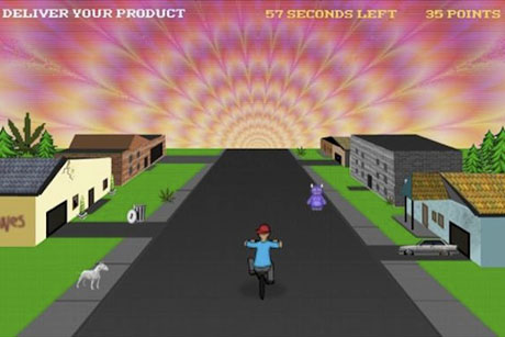 Play Wavves' 'Weed Demon' Videogame