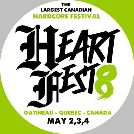 Quebec's Heartfest Confirms Comeback Kid, All Out War, A Death for Every Sin for 2014 Edition