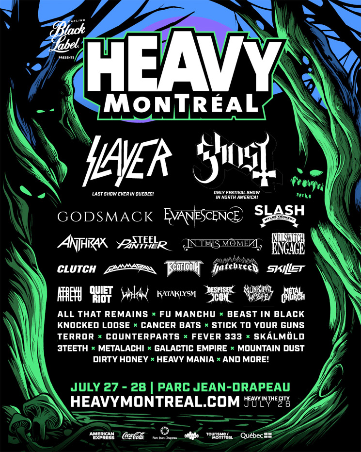 Heavy Montreal Confirms 2019 Lineup