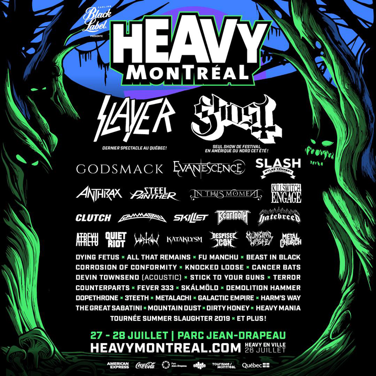 Heavy Montreal Adds Dying Fetus, Corrosion of Conformity, Devin Townsend to 2019 Lineup
