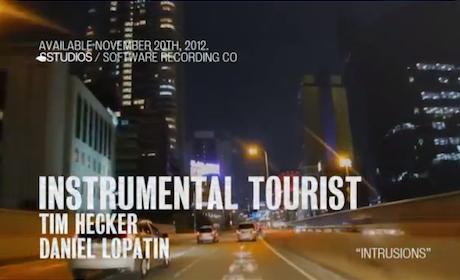 "Tim Hecker and Daniel Lopatin ""Intrusions"" (video)"