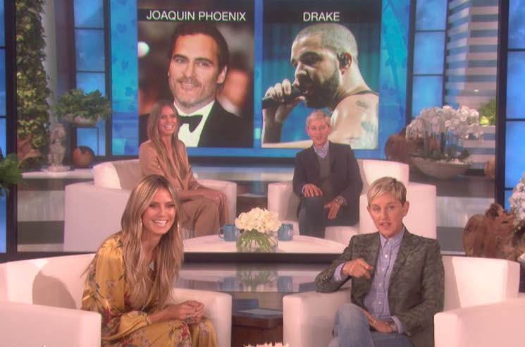 Drake Apparently Got Ghosted by Heidi Klum