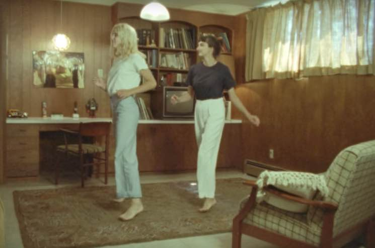 "Helena Deland and Her Cousin Show Off Childhood Dance Moves in ""Claudion"" Video"