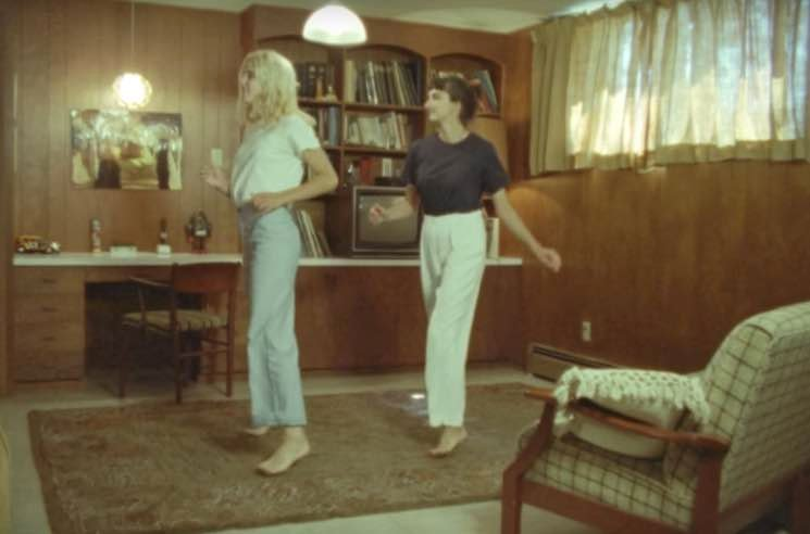Helena Deland and Her Cousin Show Off Childhood Dance Moves in 'Claudion' Video