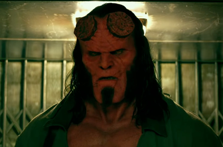 "David Harbour Blames ""the Power of Marvel Stuff"" for 'Hellboy' Failure"