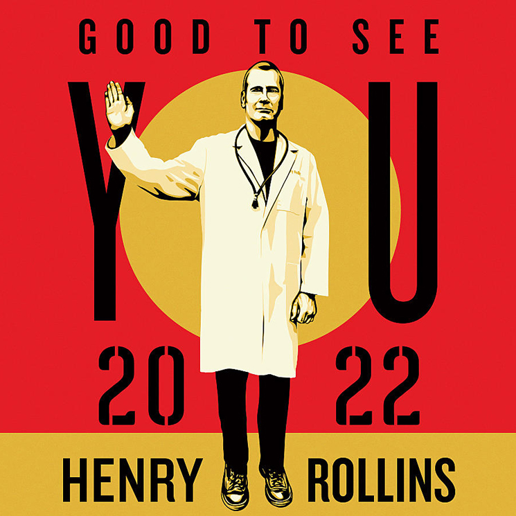 Henry Rollins to Play Canada on 2022 'Good to See You Tour'