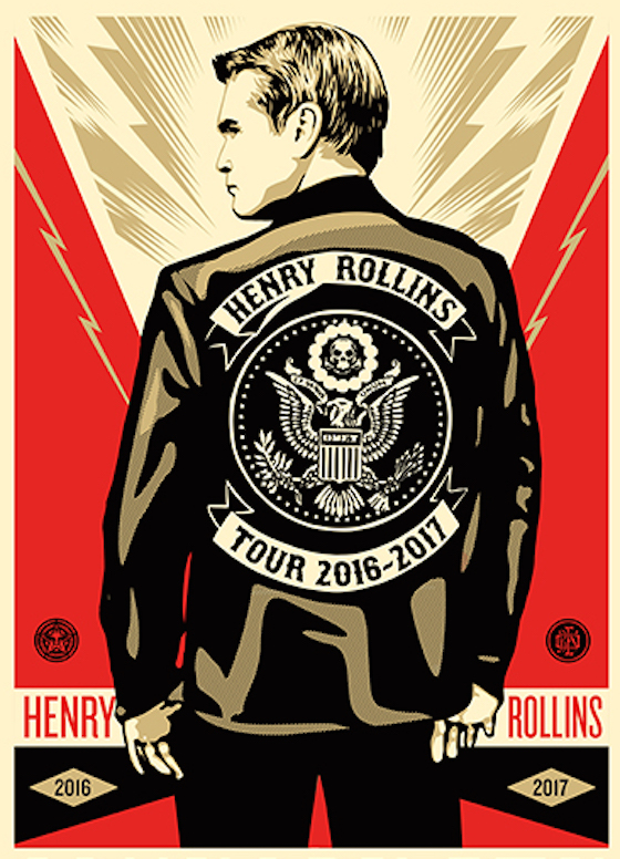 Henry Rollins Hits Canada on Spoken Word Tour