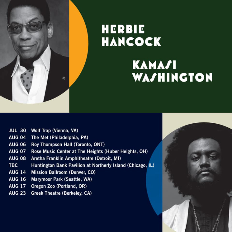 Kamasi Washington and Herbie Hancock Plot Co-Headlining Tour