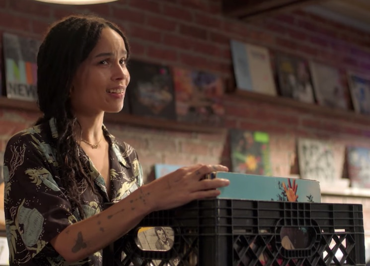 Teaser Trailer To Hulu's Comedy Series 'High Fidelity' Starring Zoë Kravitz