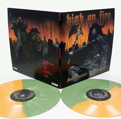 High on Fire Line Up Deluxe Vinyl Reissues