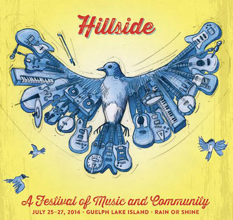 Hillside Festival Announces 2014 Lineup: Tegan & Sara, Four Tet, Kevin Drew