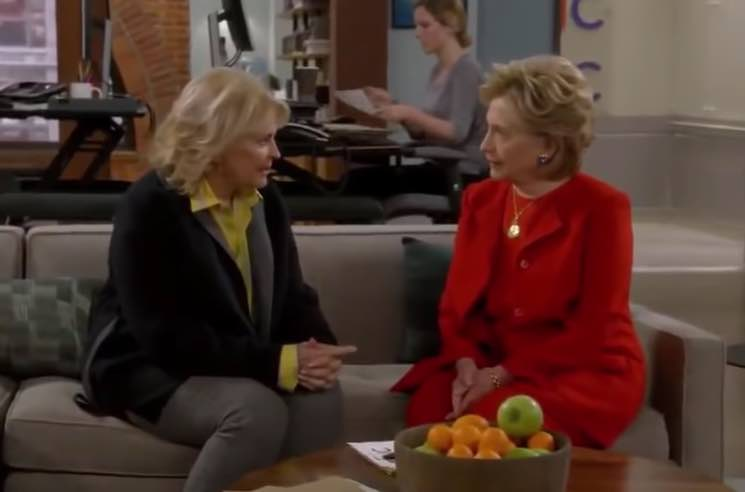 Hillary Clinton Makes Surprise Cameo on 'Murphy Brown' Reboot