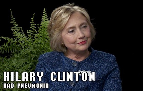 Zach Galifianakis Resurrects 'Between Two Ferns' to Interview Hillary Clinton
