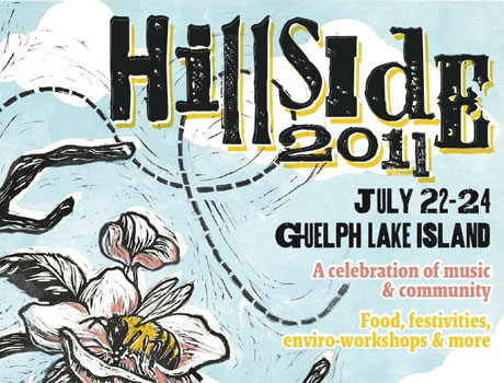 Guelph, ON's Hillside Festival Announces 2011 Lineup with the Rural Alberta Advantage, Dan Mangan, Shad