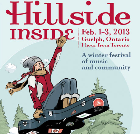 Guelph's Hillside Inside Gets Great Lake Swimmers, Hannah Georgas, K'naan, Hollerado for 2013 Edition