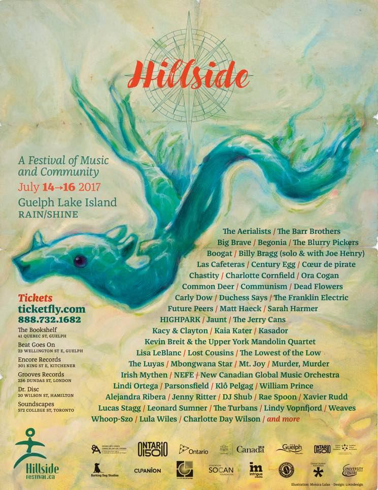 Hillside Festival Reveals 2017 Lineup