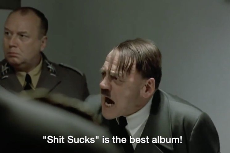 B.A. Johnston 'Hitler Reacts to the 2015 Polaris Music Prize Shortlist' (parody video)