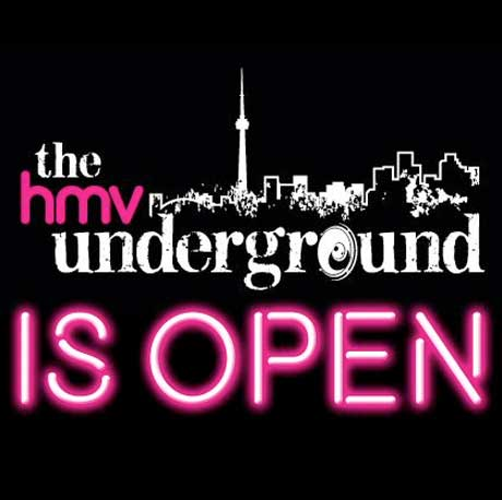 HMV's Flagship Toronto Store Opens Underground Performance Space