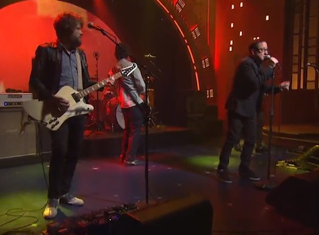 "The Hold Steady ""Spinners"" (live on 'Meyers')"