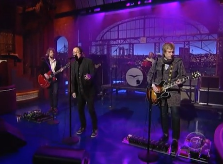 "The Hold Steady ""Spinners"" (live on 'Letterman')"
