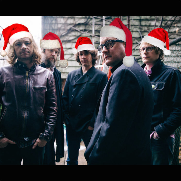 "The Hold Steady ""Christmas Is the Time to Say I Love You"" (Billy Squier cover)"