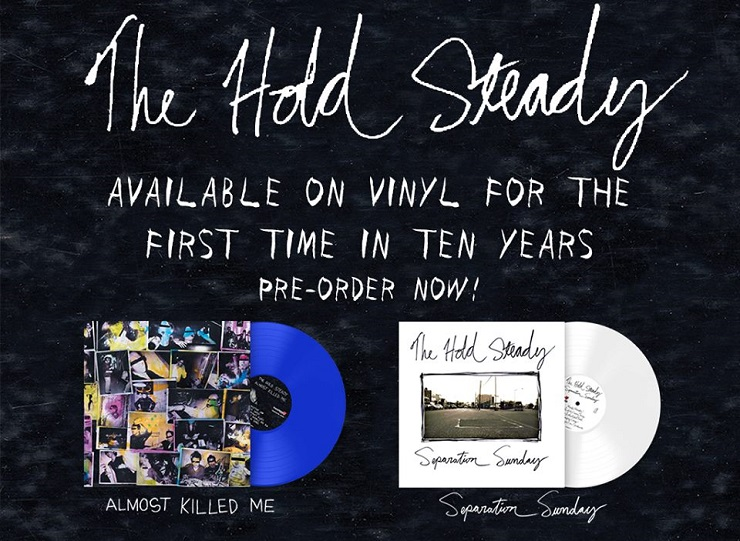 The Hold Steady Detail Deluxe 'Almost Killed Me' and 'Separation Sunday' Reissues