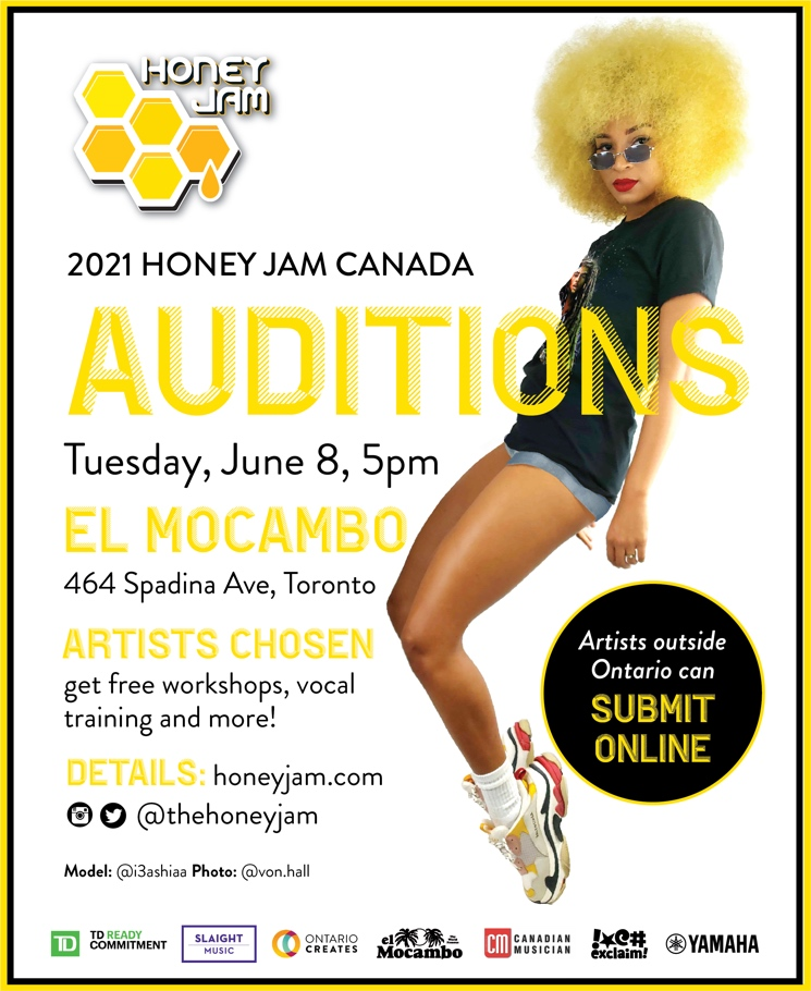 Honey Jam Auditions Are Coming to Toronto Next Month