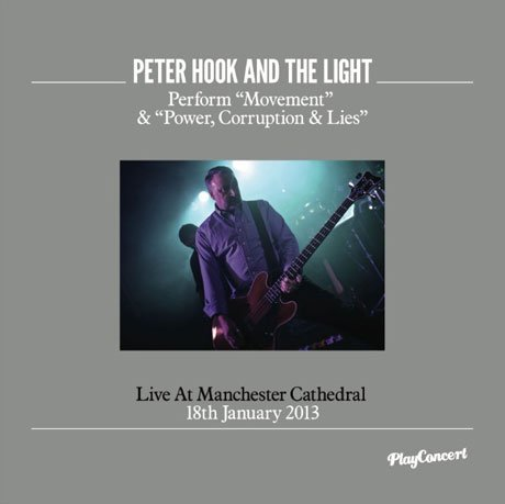 Peter Hook Revisits New Order Material with Live Album