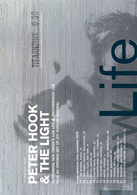 Peter Hook Books North American Tour to Perform New Order's 'Low-Life' and 'Brotherhood'