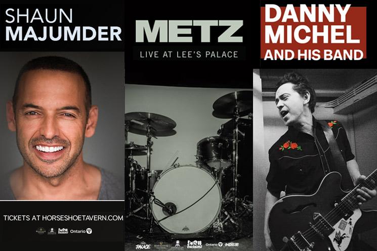 Horseshoe Tavern Adds Shaun Majumder, METZ, Danny Michel to 'Hootenanny' Livestream Series