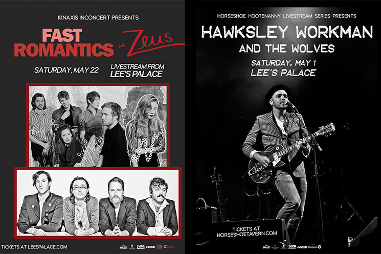 Horseshoe Tavern Adds Hawksley Workman to 'Hootenanny' Livestream Series, Kinaxis InConcert Welcomes Fast Romantics and Zeus