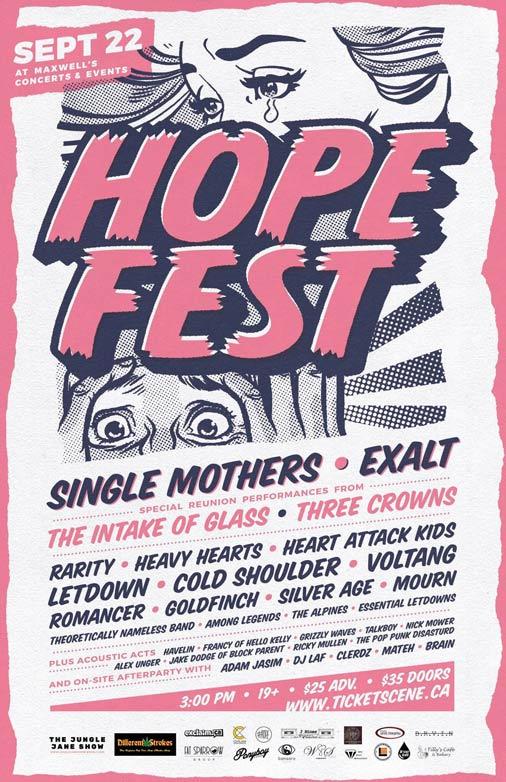Waterloo's Hope Fest Announces Inaugural Lineup