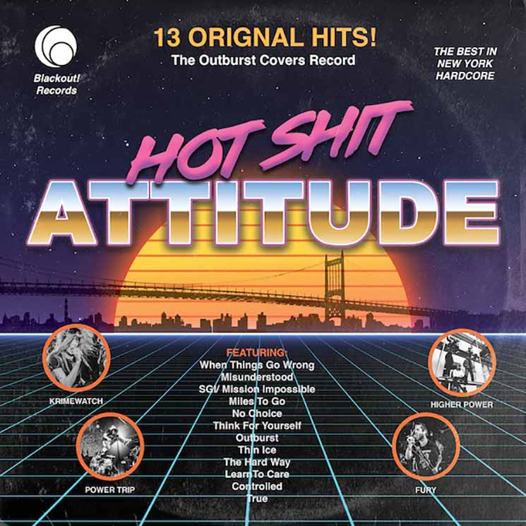 Various Artists Hot Shit Attitude: The Outburst Covers Record