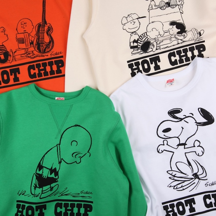 Hot Chip Teams Up with 'Peanuts' for Clothing Line