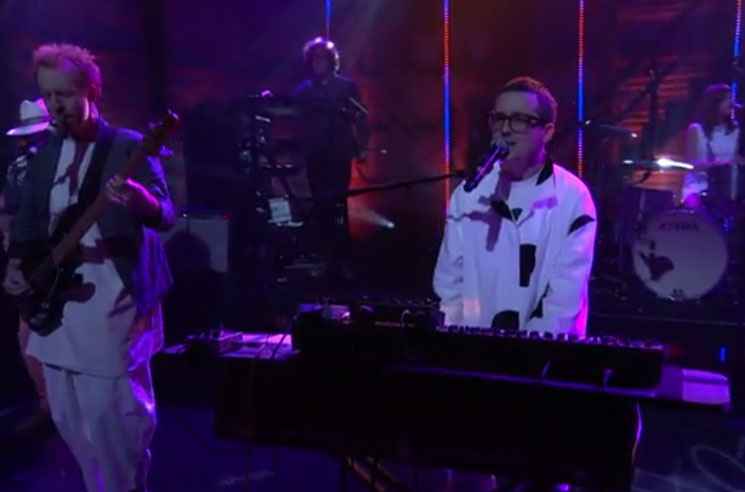 "Hot Chip ""Started Right"" (live on 'Conan')"