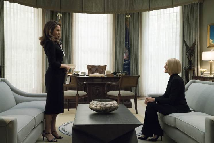 ​Diane Lane Says 'House of Cards' Doesn't Pass the 'Rectal Test'